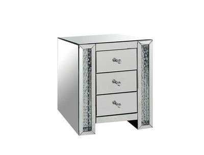 Nysa End Table Mirrored AMF-82778