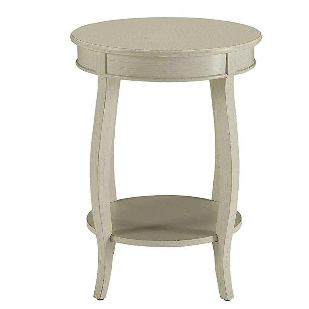 Fashionable Side Table, Antique White By ACME