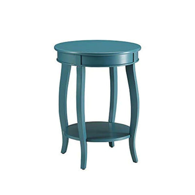 Affiable Side Table Teal Blue By ACME AMF-82790