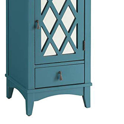 Trendy Side Table Teal Blue AMF-97380