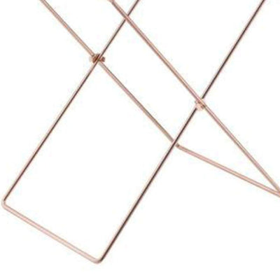 Modish Tray Table Clear Acrylic & Copper AMF-98189