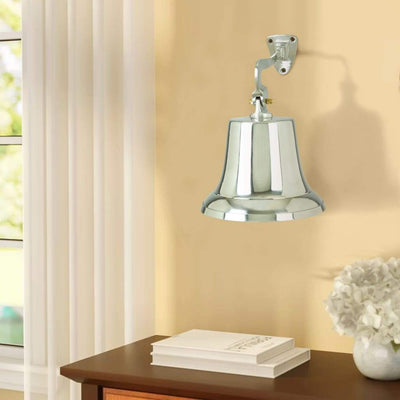 Aluminum Bell With Beautiful Wall Bracket