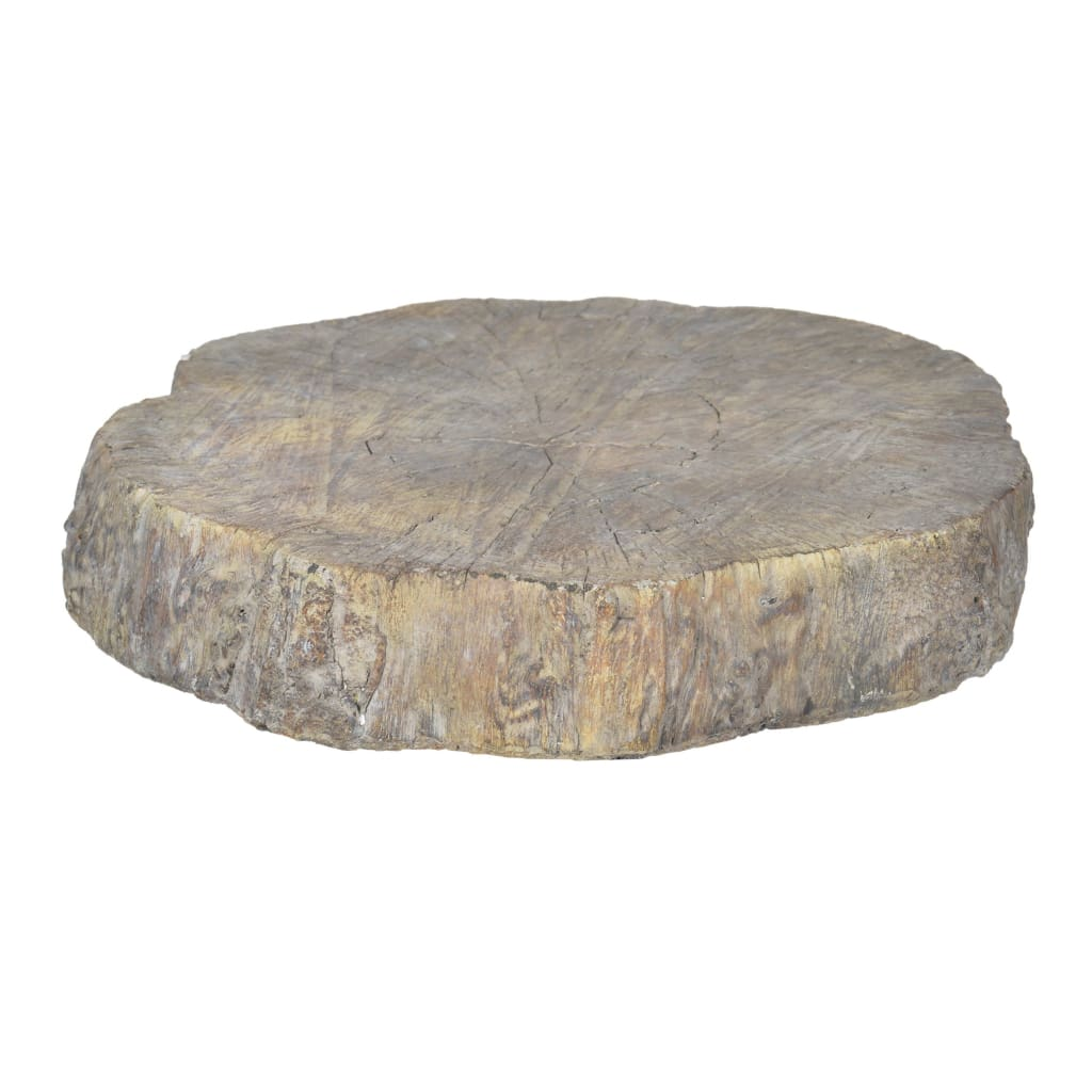 Round Cemented Log Accent, Brown - BM200916 By Casagear Home