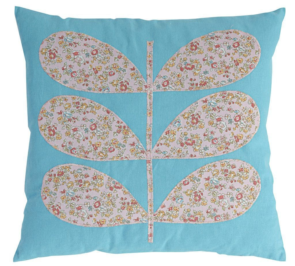 17.7 X 17.7 Inch Cotton Pillow with Floral Patchwork, Set of 2, Multicolor - BM203567 By Casagear Home