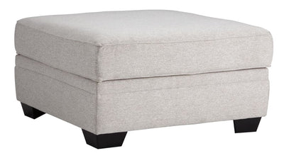 36 Upholstered Dual Layer Ottoman with Storage Gray By Casagear Home BM209210