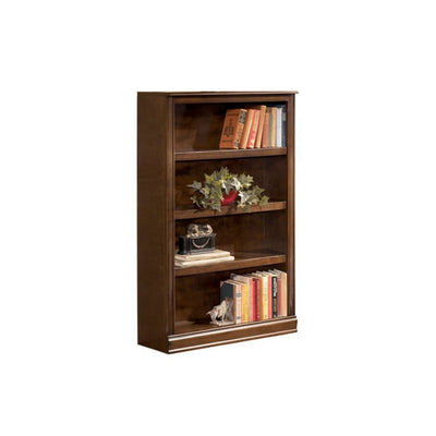"53"" 4-Shelf Bookcase, Brown By Casagear Home"