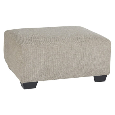 "39"" Texture Upholstered Oversized Accent Ottoman, Brown By Casagear Home"