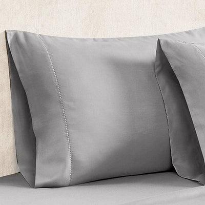 Tulsa 1200 Thread Count Tri Blend 6 Piece Queen Sheet Set Silver By Casagear Home BM231576