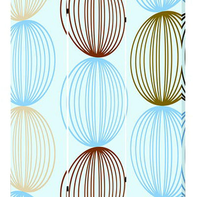 3 Panel Canvas Made Foldable Screen with Sphere Print Multicolor - BM26518 By Casagear Home BM26518