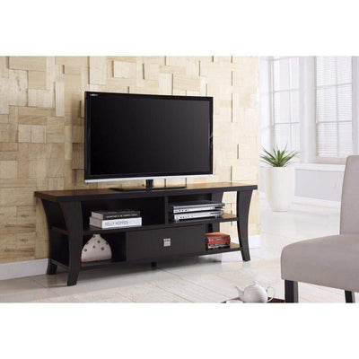Attractive Transitional Style TV Console, Brown