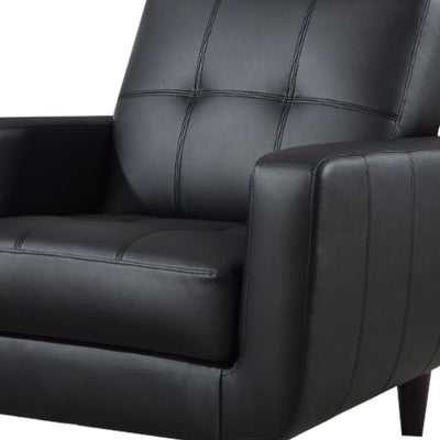 High-toned Accent Chair Black CCA-900204
