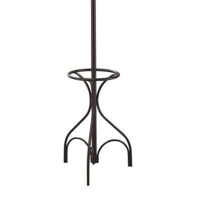 Metal Coat Rack With Umbrella Stand Black By Coaster CCA-900821
