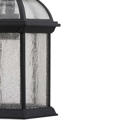 Havana Divine Transitional 1 Light Black Outdoor Wall Sconce 19 Height CHL-CH21611BK19-OD1