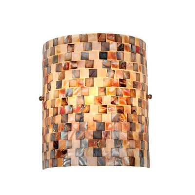 "Chloe Lighting Shelley Mosaic 1 Light Wall Sconce 8.3"" Wide"
