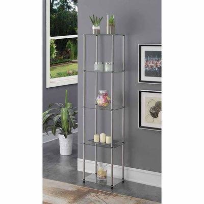 Designs2Go Classic Glass 5 Tier Tower - R2-235