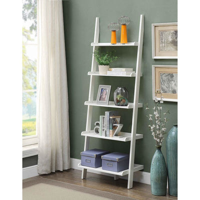 French Country Bookshelf Ladder - R3-0148