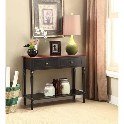 French Country Two Drawer Hall Table - R3-0159