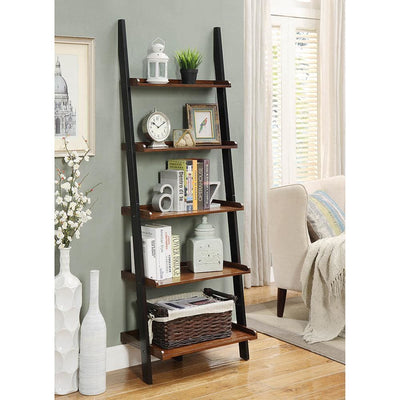 French Country Bookshelf Ladder - R3-0177
