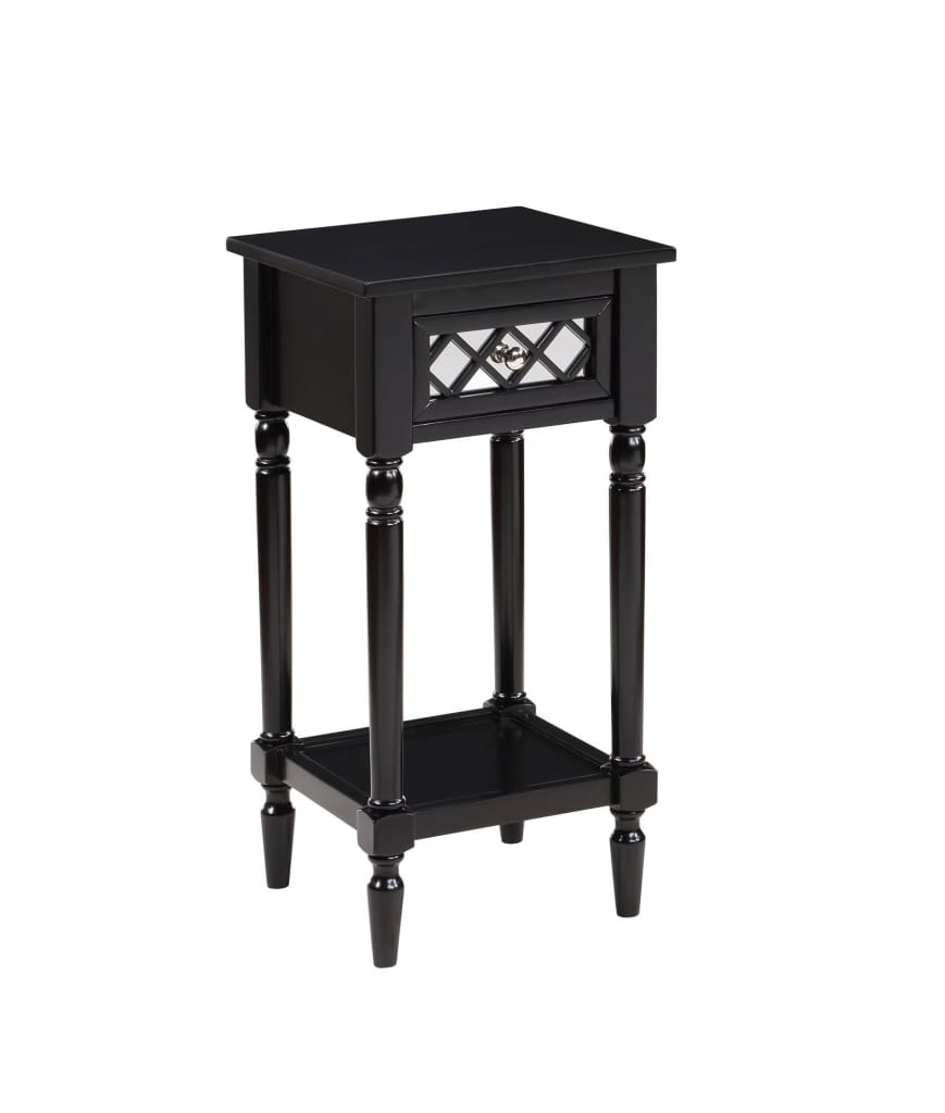 French Country Khloe Deluxe Accent Table - CVC-R3-0212 By Convenience Concepts