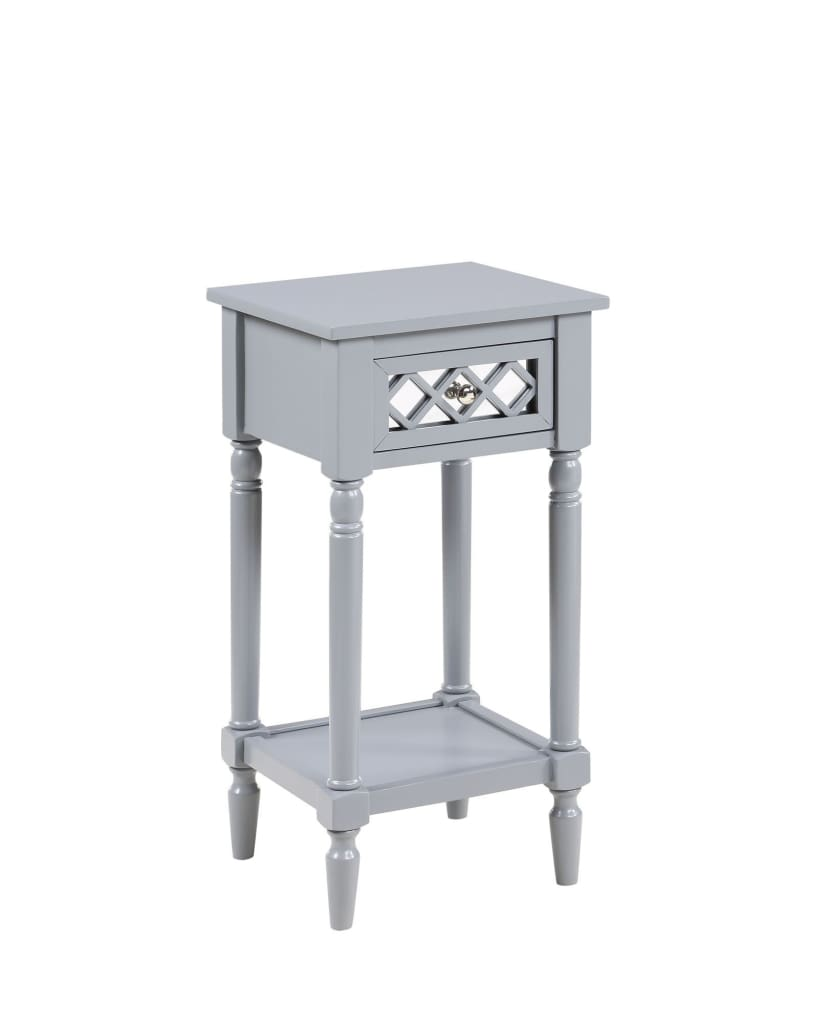 French Country Khloe Deluxe Accent Table - CVC-R3-0214 By Convenience Concepts