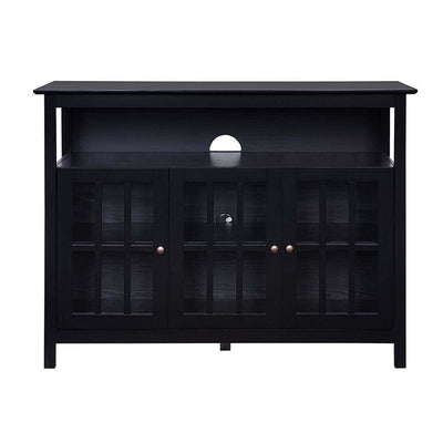 Big Sur Deluxe 48 inch TV Stand with Storage Cabinets and Shelf - CVC-R3-0215 By Casagear Home CVC-R3-0215