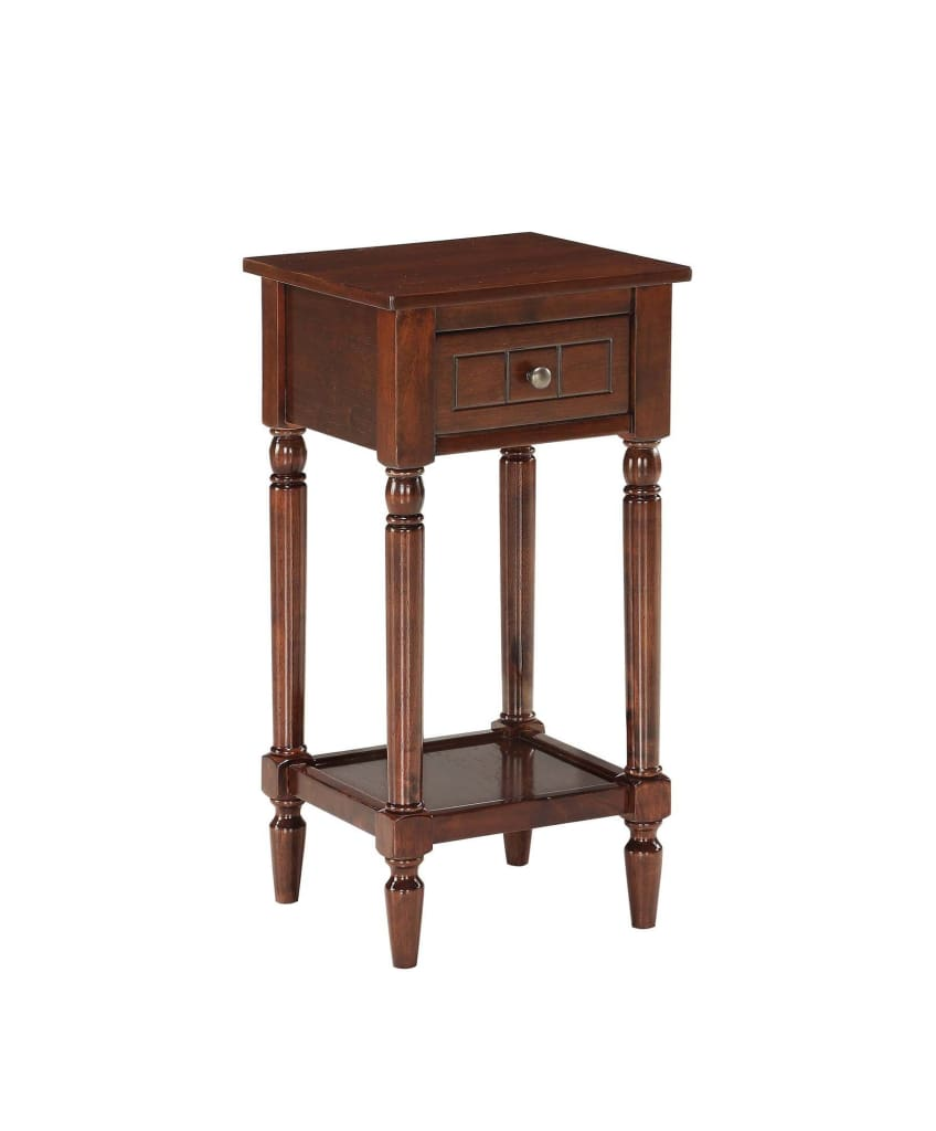 French Country Khloe Accent Table - CVC-R3-0217 By Convenience Concepts
