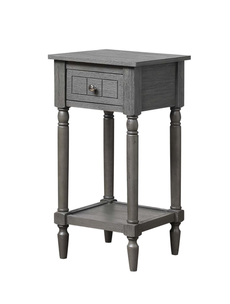French Country Khloe Accent Table - CVC-R3-0218 By Convenience Concepts