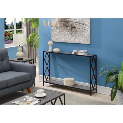 Diamond Metal Console Table - R4-0403 By Casagear Home