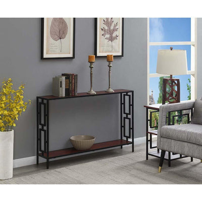 Town Square Metal Frame Console Table - R4-0481