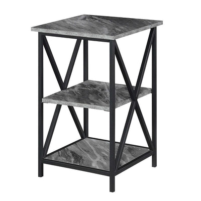 Tucson End Table with Shelves - CVC-R4-0548 By Casagear Home