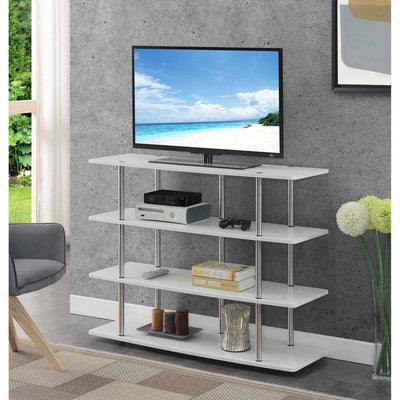 Designs2Go XL Highboy 4 Tier TV Stand - CVC-R4-0556 By Casagear Home CVC-R4-0556
