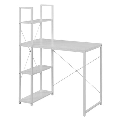 Designs2Go Office Workstation with Shelves - CVC-R4-0558 By Casagear Home