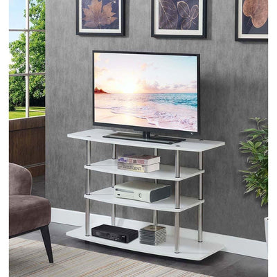Designs2Go No Tools Wide Highboy TV Stand - R5-259
