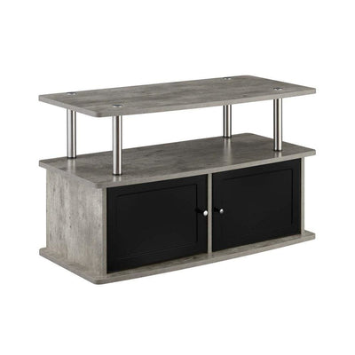Designs2Go TV Stand with 2 Storage Cabinets and Shelf - CVC-R5-261 By Casagear Home