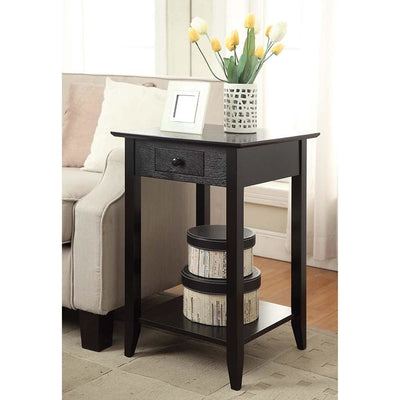 American Heritage End Table with Drawer and Shelf - R6-101