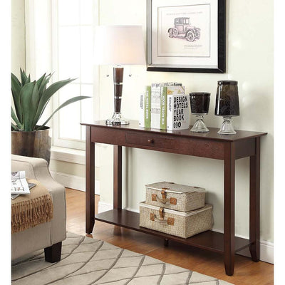 American Heritage Console Table with Drawer - R6-122