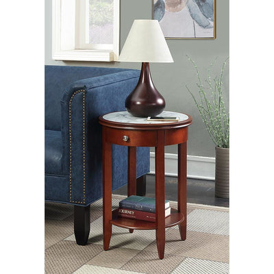 American Heritage Baldwin End Table with Drawer - R6-227