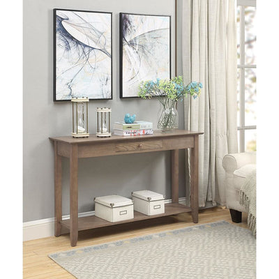 American Heritage Console Table with Drawer - R6-278