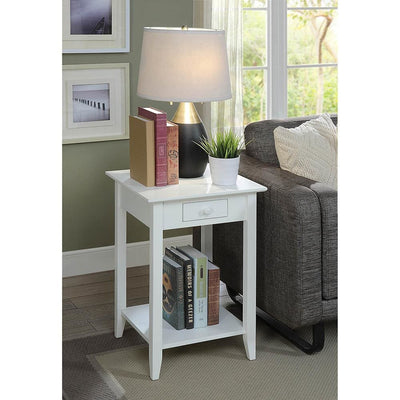 American Heritage End Table with Drawer and Shelf - R6-280