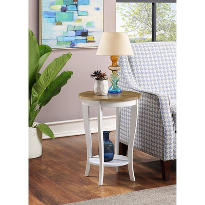 American Heritage Round End Table - R6-357