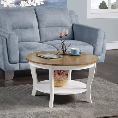 American Heritage Round Coffee Table - R6-369