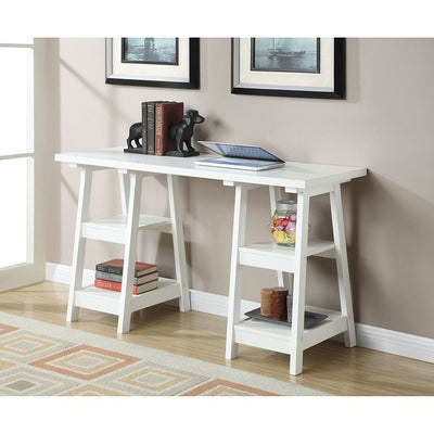 Designs2Go Double Trestle Desk - R7-114