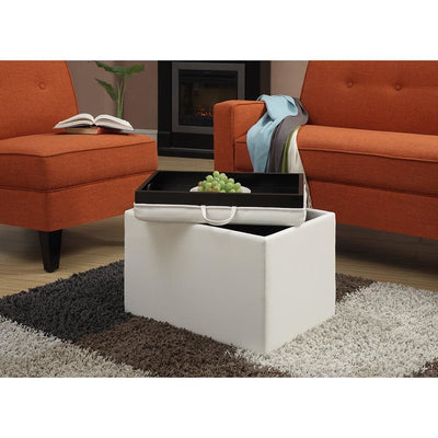 Designs4Comfort Accent Storage Ottoman - R8-116