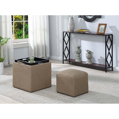 Designs4Comfort Park Avenue Single Ottoman with Stool - R8-183