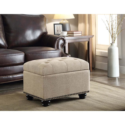 Designs4Comfort 5th Avenue Storage Ottoman - R9-113