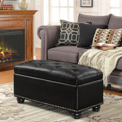 Designs4Comfort 7th Avenue Storage Ottoman - R9-115