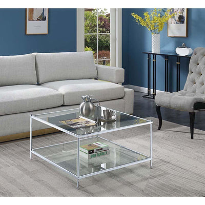 Royal Crest Square Coffee Table - S11-157