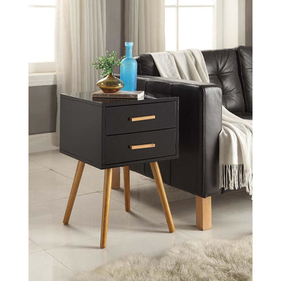 Oslo 2 Drawer End Table - S20-136