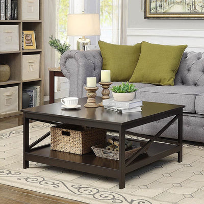 Oxford 36 inch  Square Coffee Table - S20-222