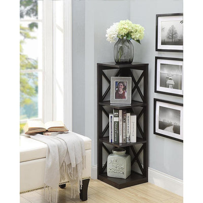 Oxford 3 Tier Corner Bookcase - S20-227